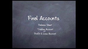 final accounts of company
