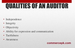 Qualities of a Good Auditor