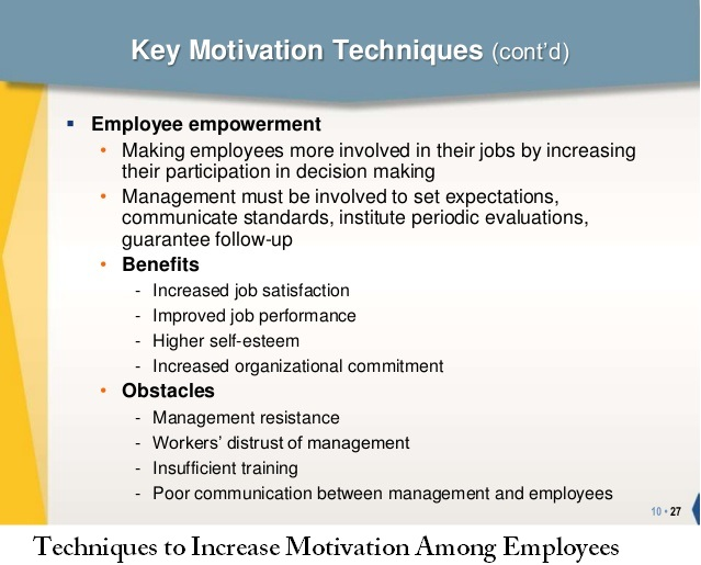 advantages and disadvantages of employee involvement in decision making Managing strategies - advantages and disadvantages of employee and union participation in management.