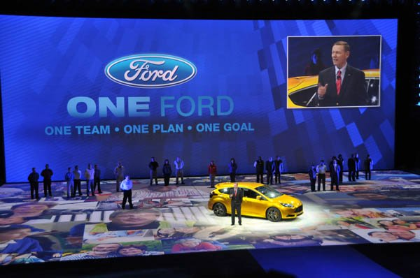 (JAN2011) Detroit, Mich. North American International Auto Show