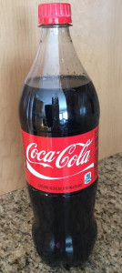 Picture of a bottle of Coca-Cola